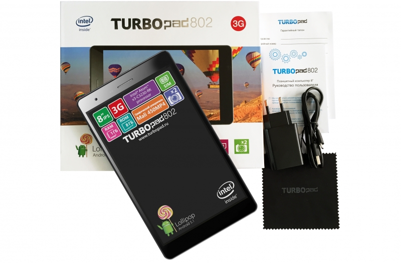 ������� TurboPad 802i ������